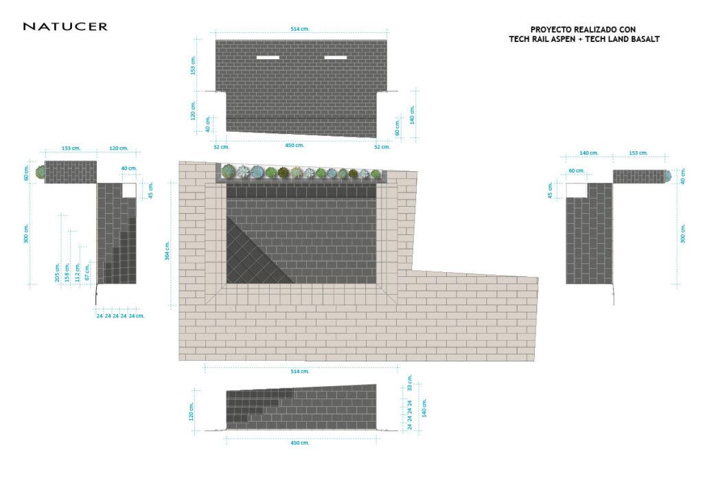 Planos construcción piscina